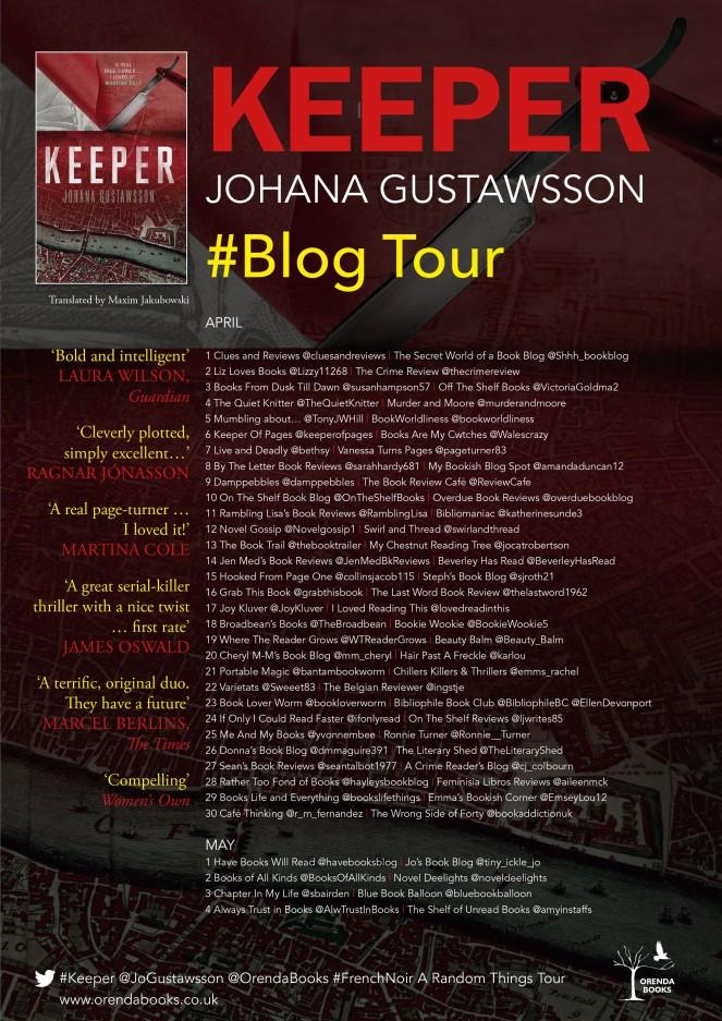 Keeper Blog Tour